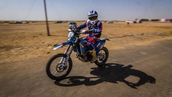 Abdul Tanveer becomes the 3rd Indian to qualify for Dakar Rally