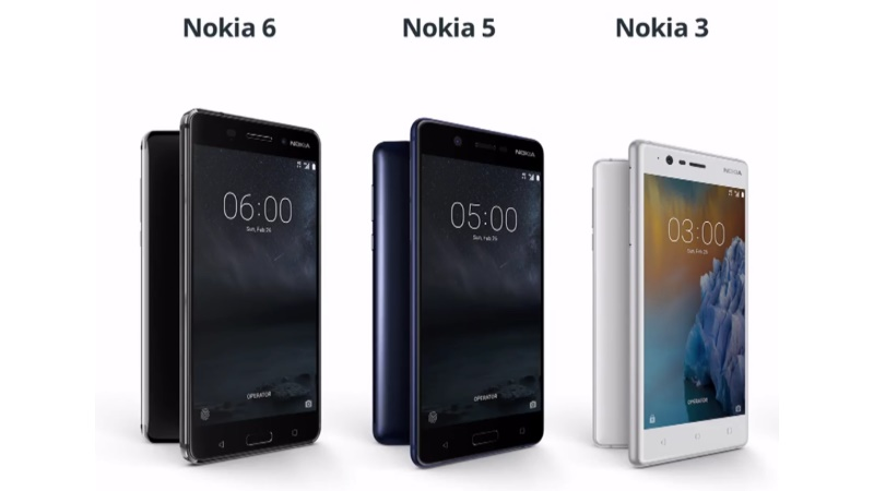 Nokia 3, 5, 6 India Launch Expected on June 13