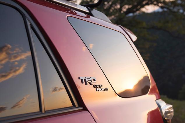 2017 Toyota 4Runner TRD Badge