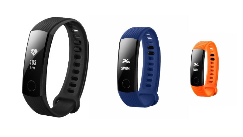 Honor Band 3 With Heart Rate Sensor Launched in India at Rs. 2,799