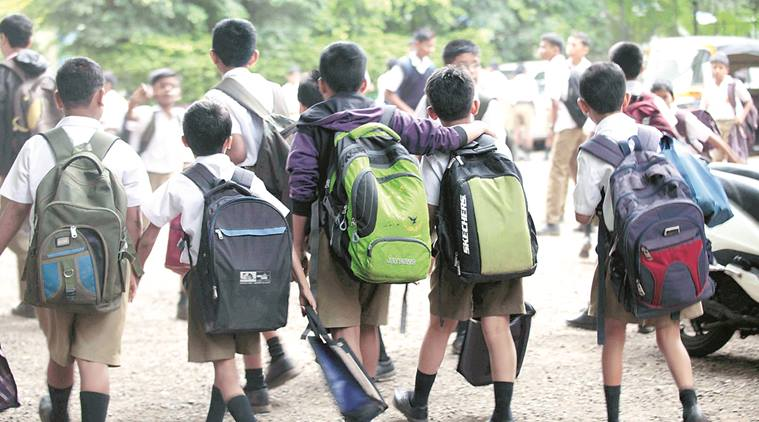 school, school bag, maharashtra school, maharashtra education, school education, education news, cbse, icse, cisce, education news, indian express