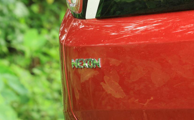 tata nexon badge