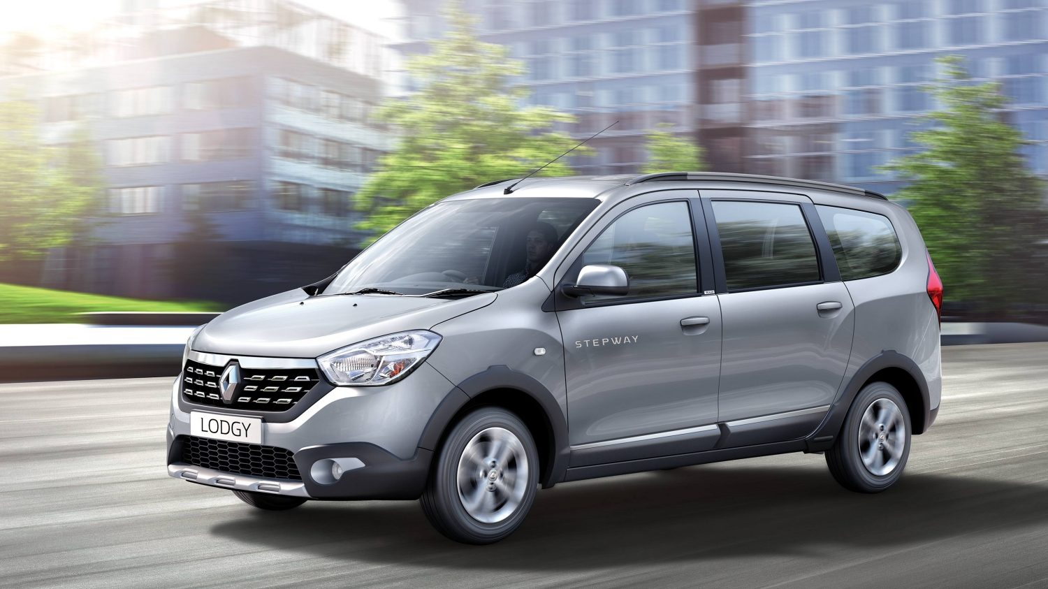 Image result for Renault Lodgy Stepway is a successor to the Lodgy MPV