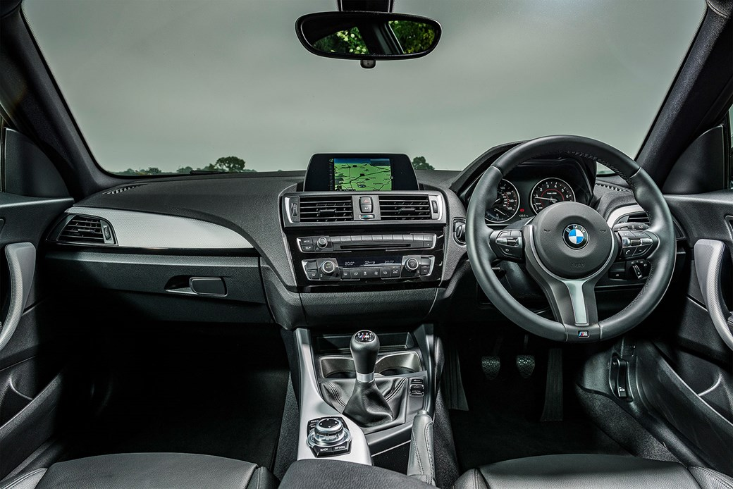 BMW M140i cabin: interior starting to look dated now