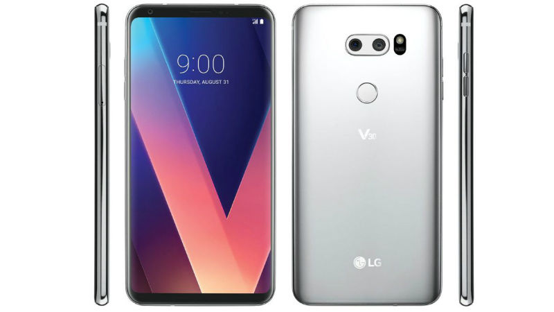 LG V30 Seen From All Sides in New Leaked Renders