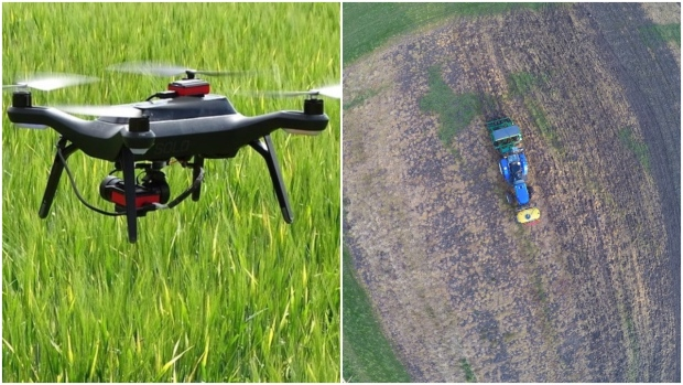 The Hands Free Hectare project, out of Harper Adams University in the U.K., successfully planted, tended and harvested 1.5 acres of barley using only autonomous vehicles and drones.