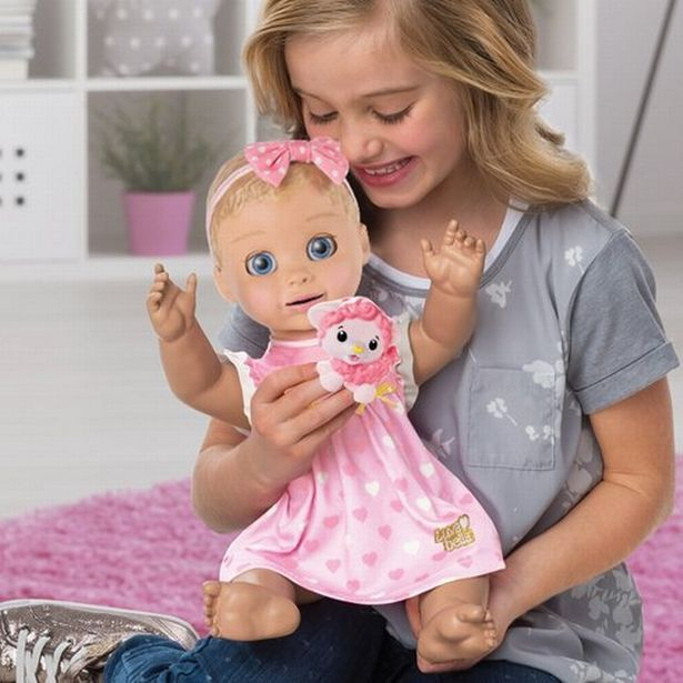 The Luvabella doll is capable of words and phrases