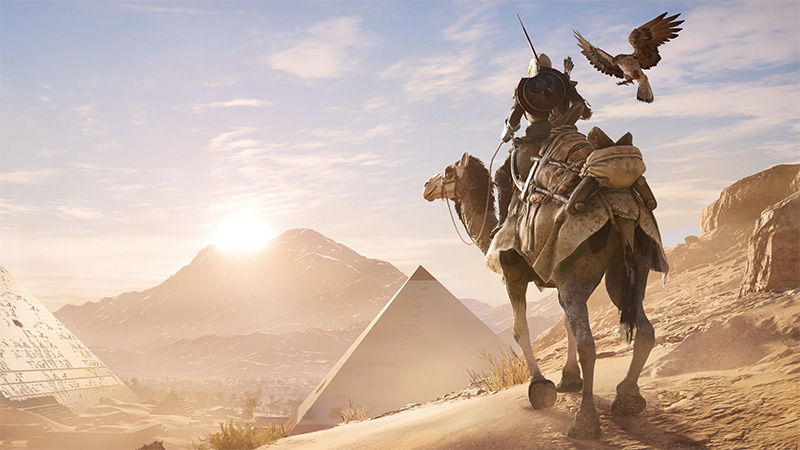 Assassin's Creed Origins, Super Mario Odyssey, Wolfenstein: The New Colossus, and Other Games Release This October