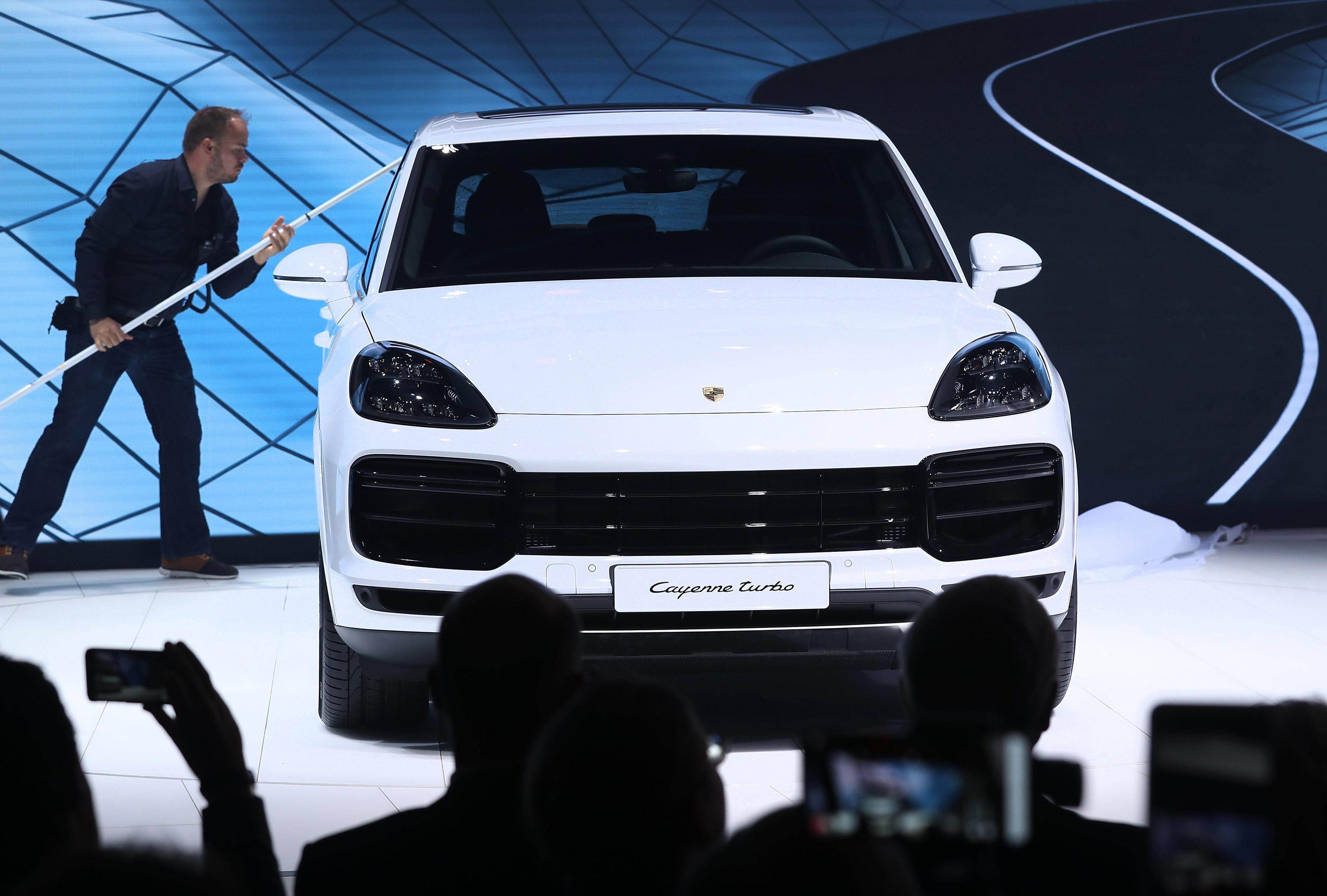 The stolen Porsche cost £50,000