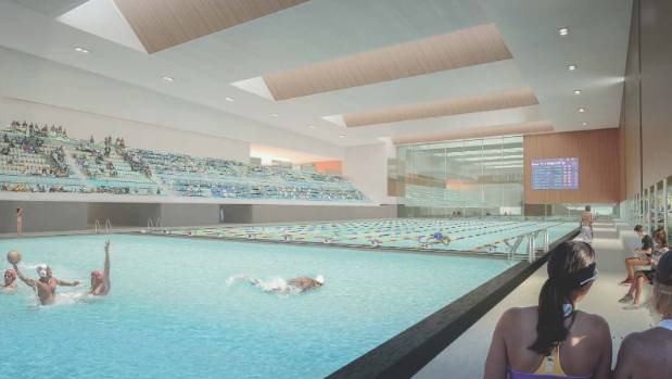 Plans for the metro sports facility include a 50 metre pool and a diving pool.