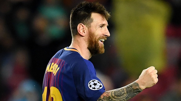 Lionel Messi has signed a new four-year contract with Barcelona