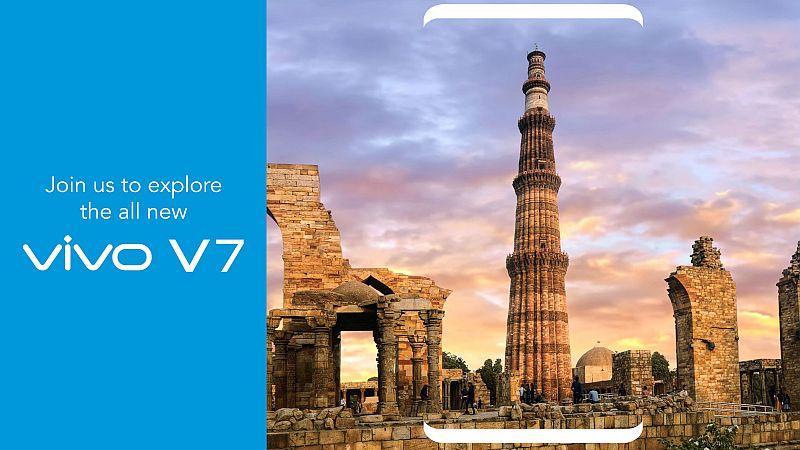 Vivo V7 India Launch Set for Monday