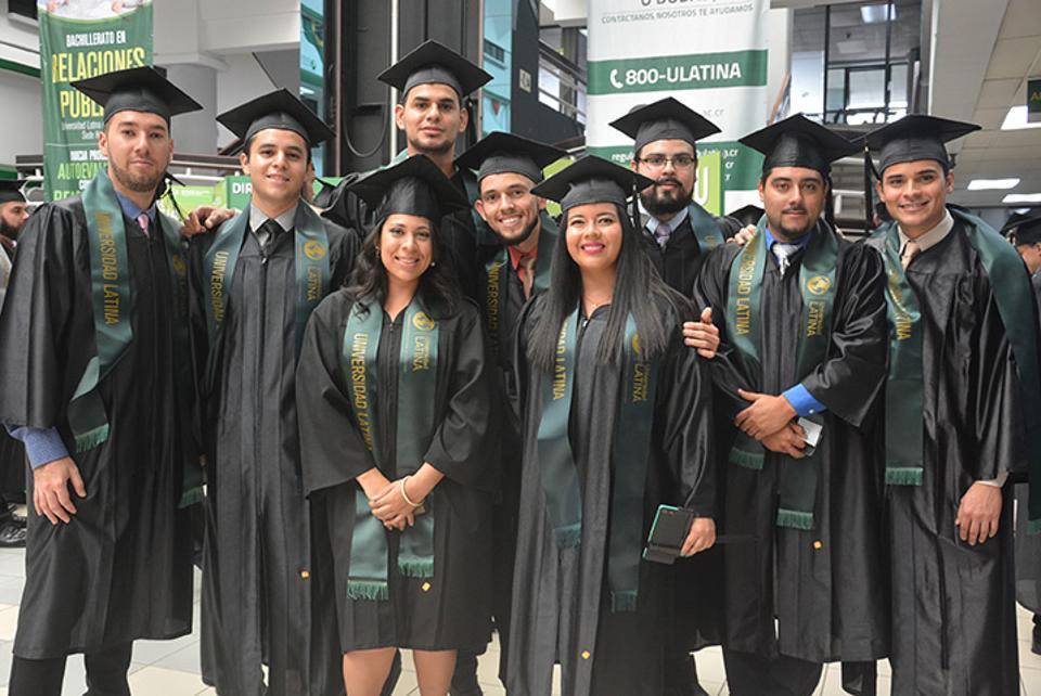 Laureate University International graduates