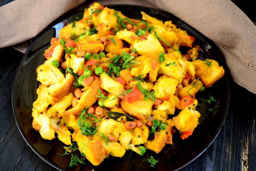 Image result for Easy Bread Poha