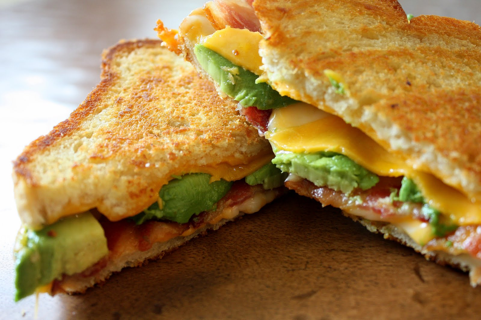Image result for Grilled Cheese Toast With Bacon and Avocado