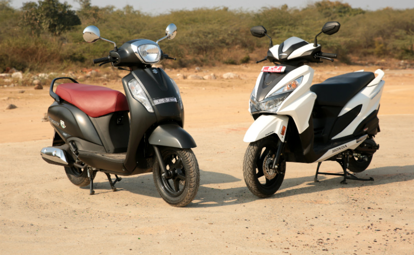 Suzuki Access Vs Honda Activa  Review