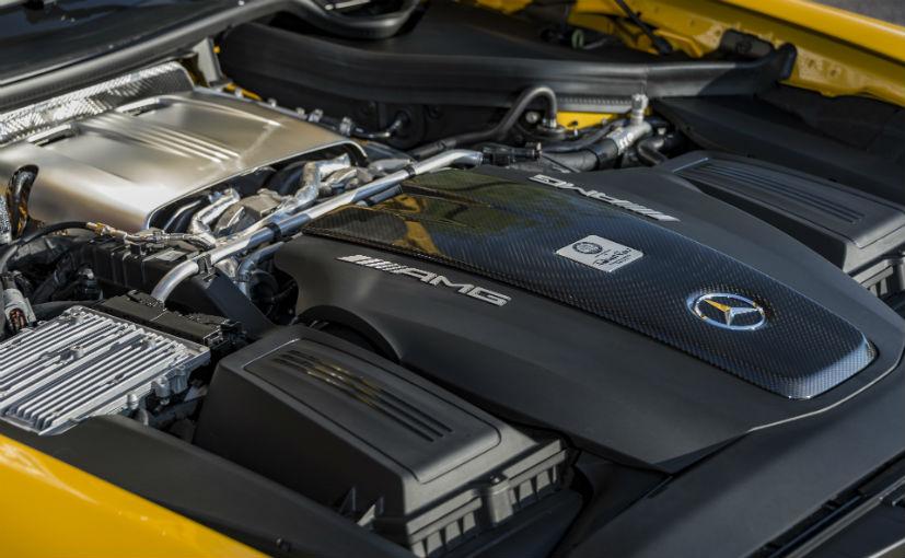 mercedes amg gt c roadster engine