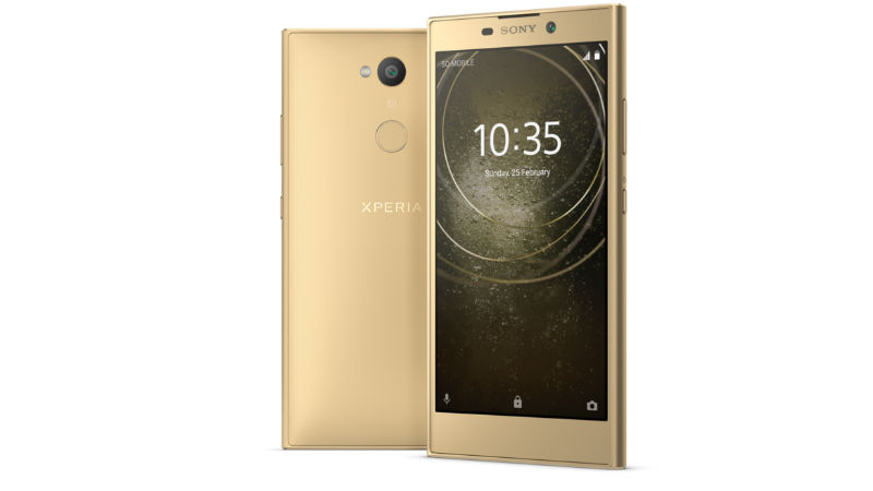 Sony Xperia L2 With Wide-Angle Selfie Camera Launched at CES 2018: Specifications, Features