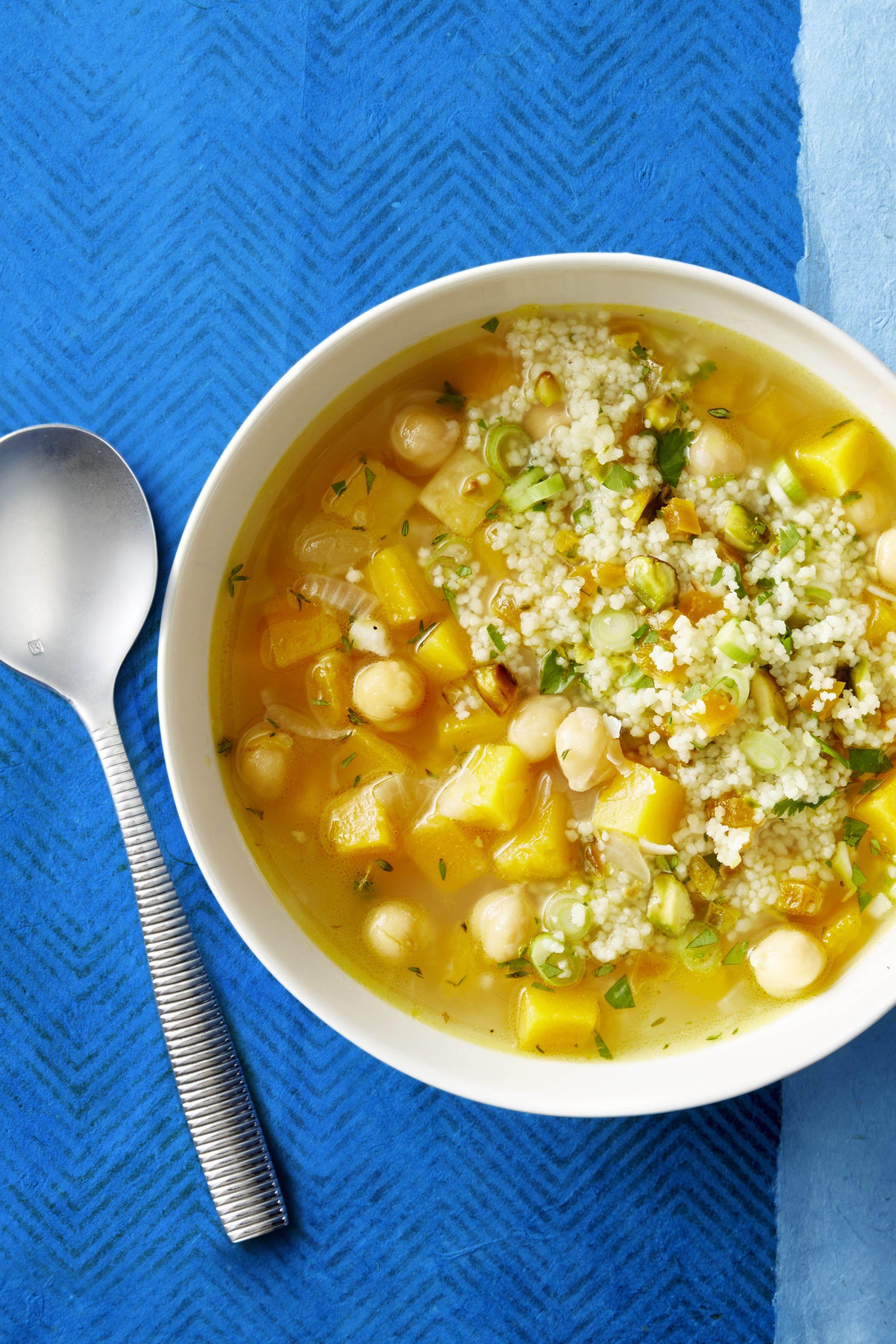butternut squash and white bean soup