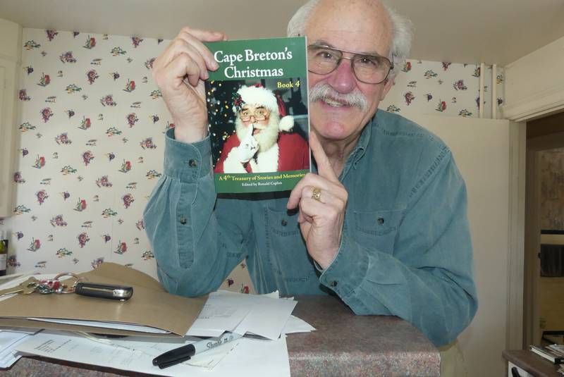 Breton Books publisher Ron Caplan is always looking for good, heart-warming Christmas stories.