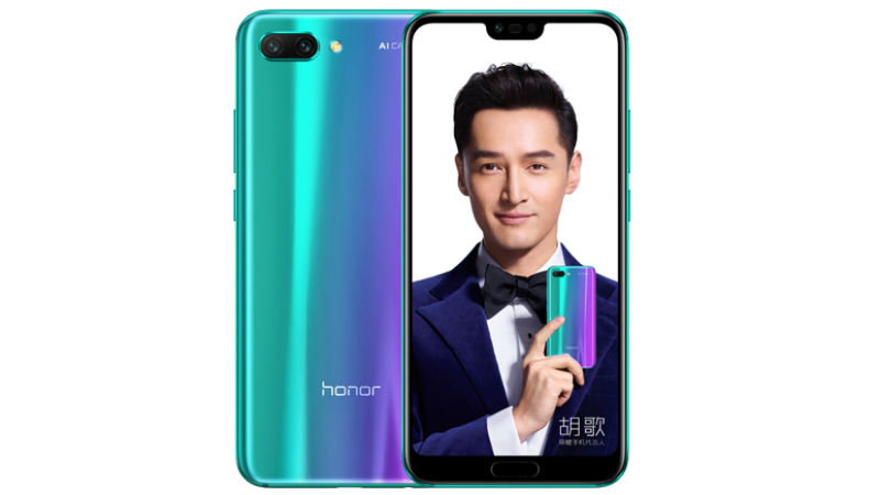 Honor 10 With Dual Rear Cameras, iPhone X-Like Notch Launched: Price, Specifications, Features