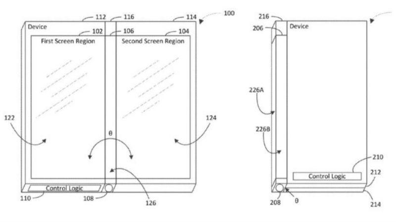 microsoft foldable phone freepatentsonline Microsoft  Motorola  Foldable Smartphones