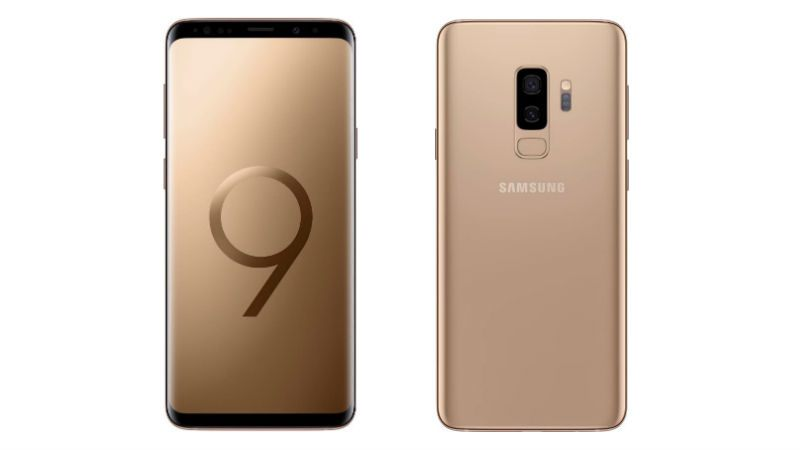 Samsung Galaxy S9+ Sunrise Gold Edition Goes on Sale in India Today