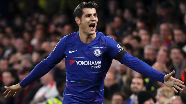Atletico Madrid are in talks to sign Alvaro Morata