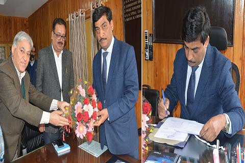 Arun Mehta assumes office as principal secy finance