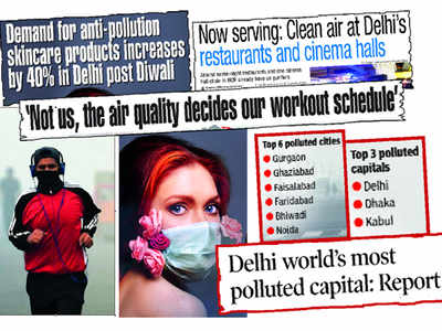 Over the last few months, our stories showed how Delhi has adapted its lifestyle to deal with the toxic air
