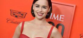 Festive Emilia Clarke Is Already Getting People in the Christmas Spirit
